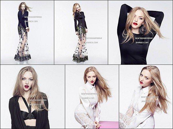 Amanda a réalisé un photoshoot pour le nouveau parfum de Givenchy, Verry Irrésistible L'eau en RoseLe shoot est joli en lui-même, Amanda porte de belles tenues ainsi qu'un maquillage qui reste tout de même assez naturel.