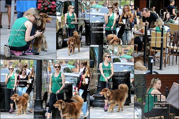 25 juillet 2014 : Amanda est allée dans un restaurant avec des amies & Finn