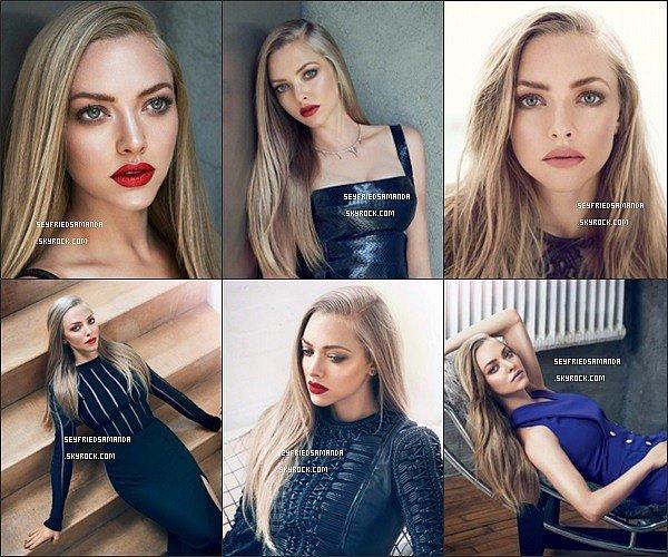 Nouveau photoshoot d'Amanda pour Allure réalisé par le photographe Lee Do GyuAmanda est tout simplement magnifique ! Ses cheveux sont splendides, j'adore les tenues qu'elle porte