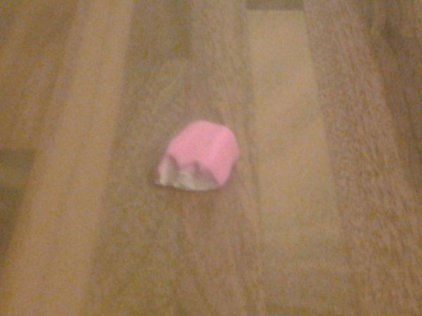 Bonbon guimauve en Fimo.