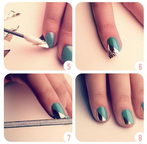 #Nail art fastoche