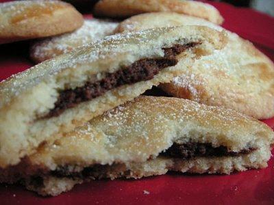 Biscuit fourré au nutella