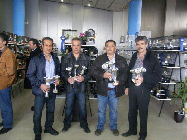 Greek Championship 2011 Awards