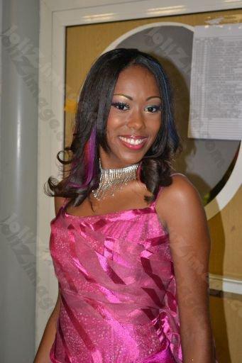 Tenue De Soirée Lors De L'élection Miss Caraibes Des Lycées