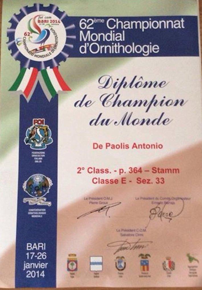 World Championship Bari 2014