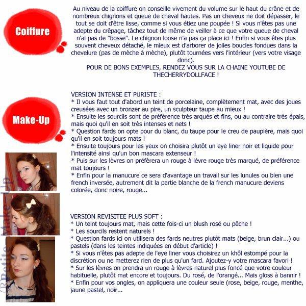 Look Vintage par Petite-Make-Up