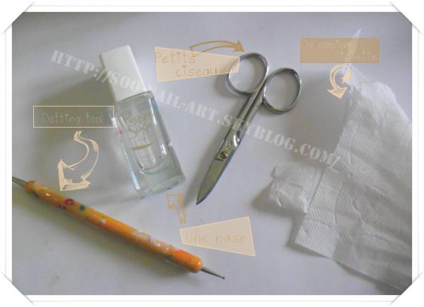 Astuce : Faire un pansement d'ongle par Soo-Nail-Art