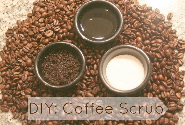 Exfoliant amincissant au marc de café