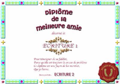 Beliebt 1 poème pour ma meilleure amie chaima - Allah notre Roi, l'Islam  MD09
