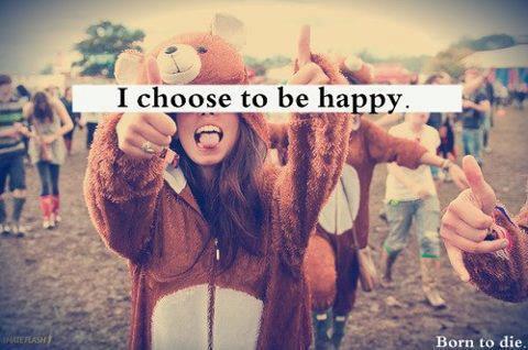 Choisi d'être heureux xx