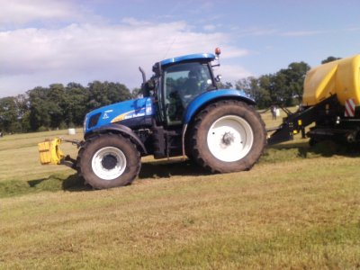 new holland t 7070 est presse bb 9090