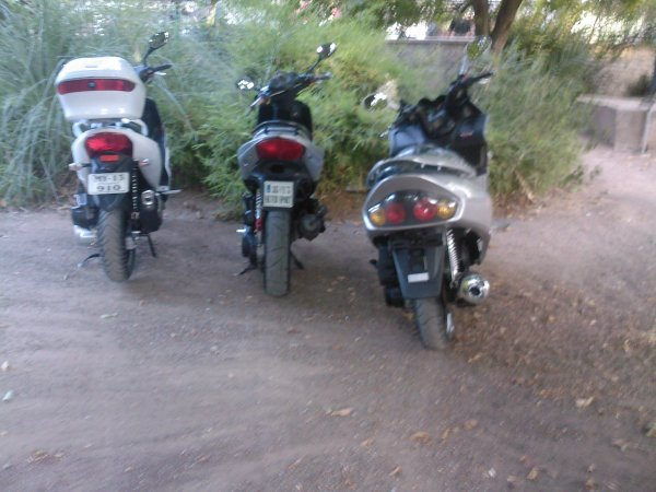 les scooters