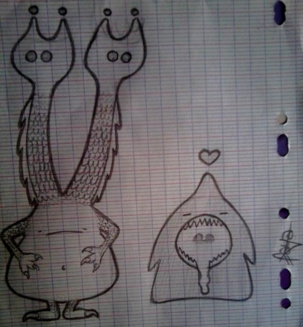 Quelques dessins :3