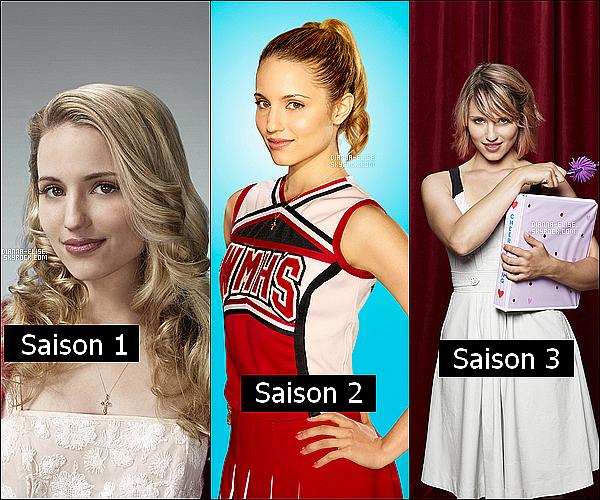 ___ Evolution de Quinn Fabray dans Glee saison 1,2,3, donne moi ton avis  ! __