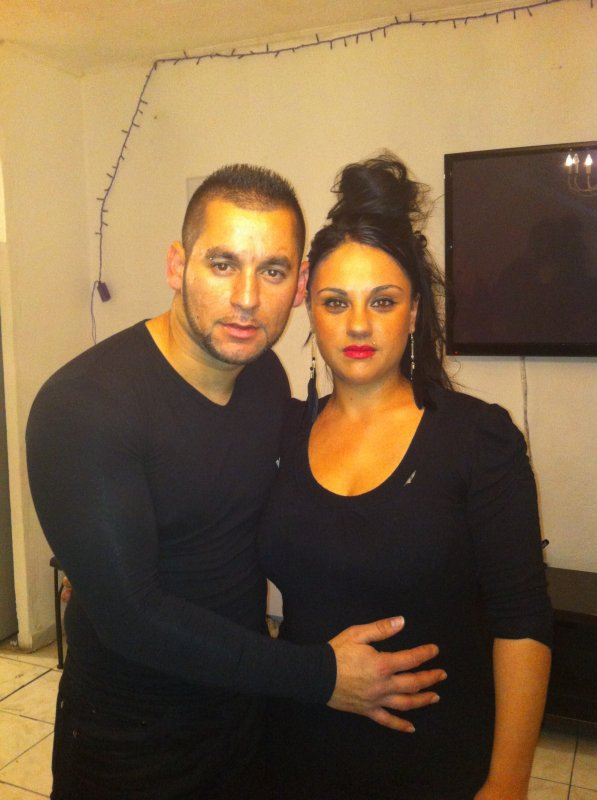 Vicente et sa femme jessica