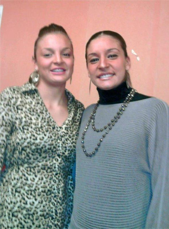 Andréa y Ornella