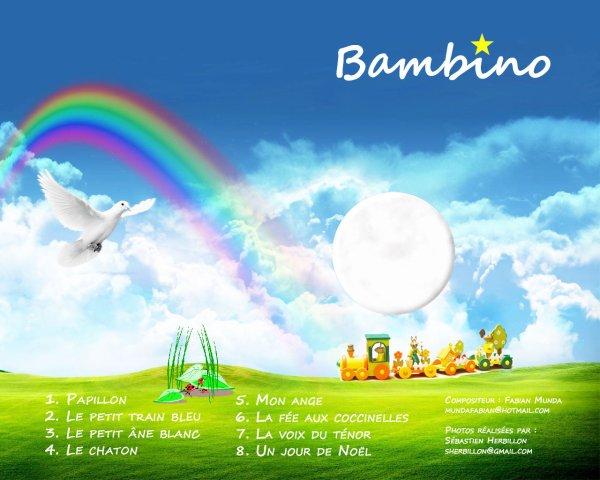 """Mon CD """"BAMBINO"""""""