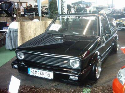 vw golf 1 cabrio tuning tito represent le 1370. Black Bedroom Furniture Sets. Home Design Ideas