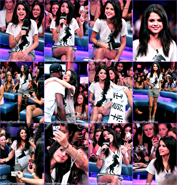. Selena aux MTV Video Music Awards 2011 le 28 août dernier.  .
