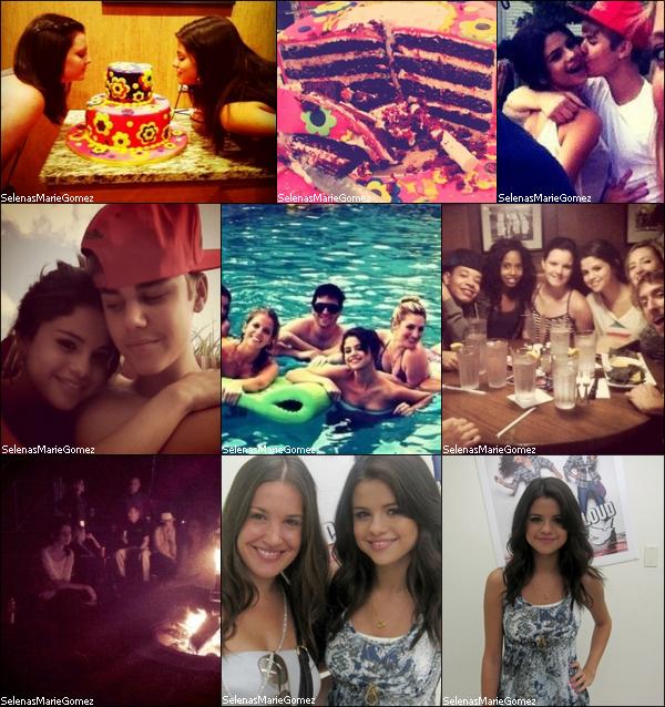 . Photos personnelles de Selena et ses amis quel a poster récement.  .