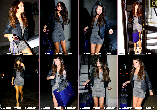 . Selena quitte le Nine Zero One Salon, West Hollywood le 1 novembre.  .