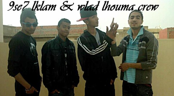 9se7 lklam & wlad lhouma crew -- free style rap dssa7 (2012)