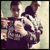 Lucas Domenech et Christopher bonte