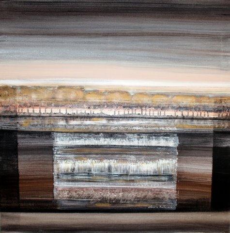 Réminiscences Ondulatoires, Claudine Ruelle, artiste peintre