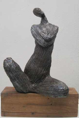 """Corps à Corps"", Exposition novembre 2011, Sculpture de Michel DI NUNZIO"