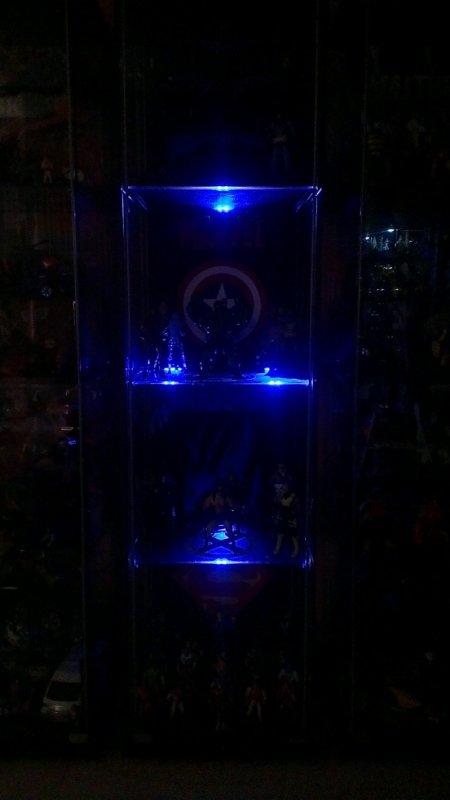 led bleu...