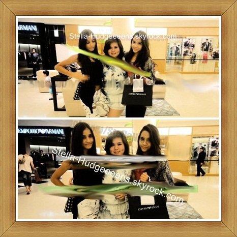 Voici deux nouvelles photos de Stella, Pia et Gabby datant de quand Stella était en Guam