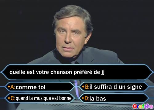 QUESTION DE JEAN PIERRE FOUCAULT
