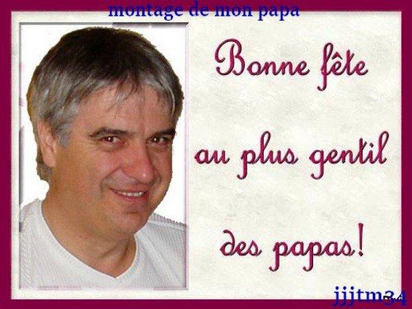 ♥♥ MONTAGE DE MON PAPA ♥♥