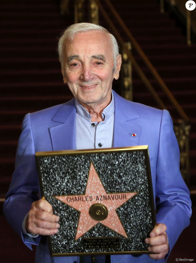 HOMMAGE A CHARLES AZNAVOUR