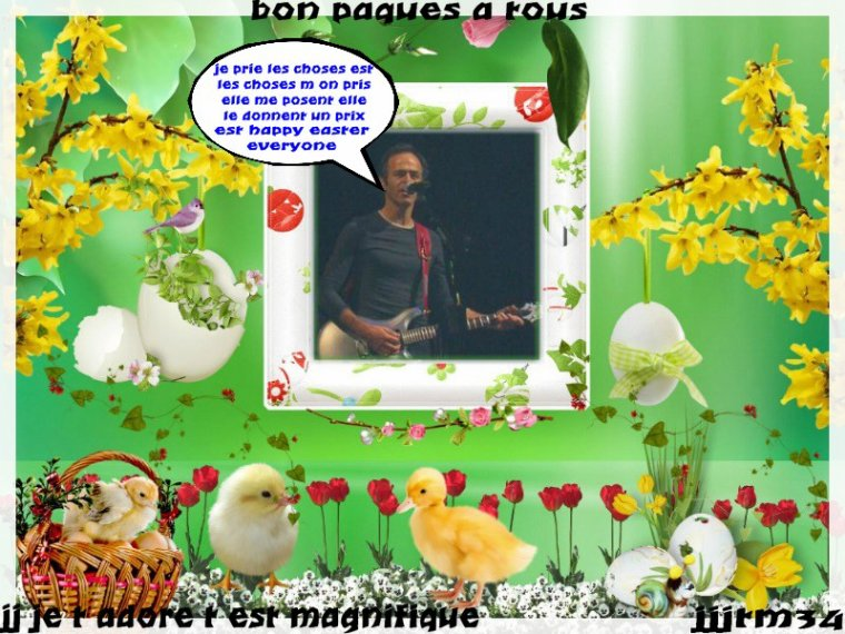 ♥♥ MONTAGES JJ PAQUES  ♥♥