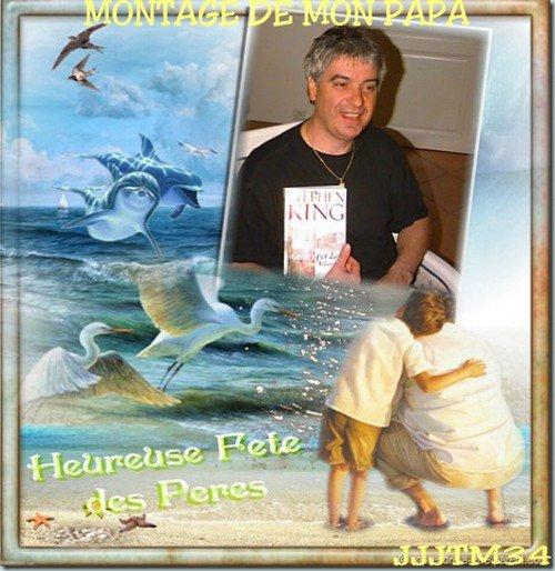 ♥♥ MONTAGES FETES DES PERES ♥♥