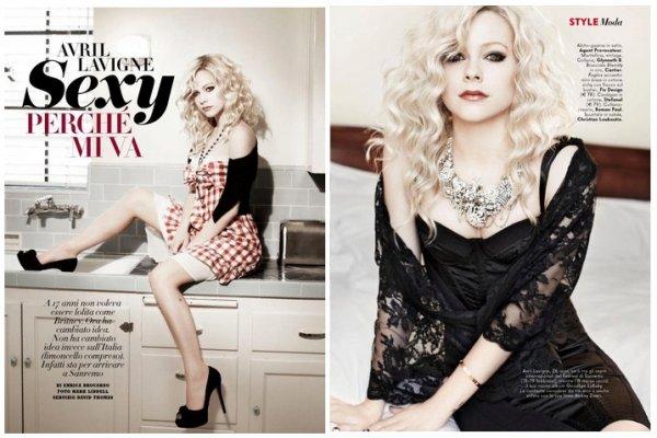 -  -  Avril Vanity Fair 2011    ______   ->__ *_* -  -