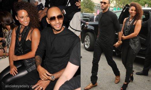 Alicia Keys à la fashion week