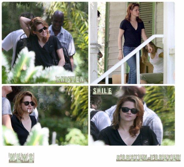Kristen Stewart en Nouvelle Orleans !
