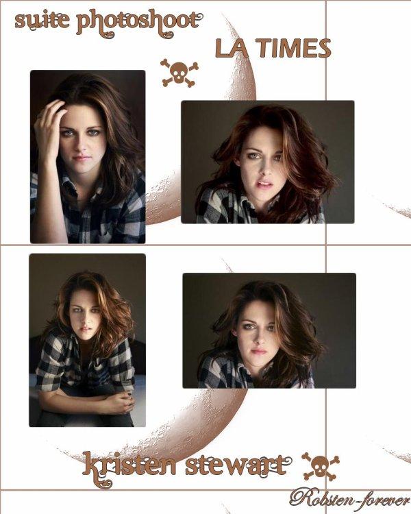 Suite Photoshoot LA Times : Kristen Stewart