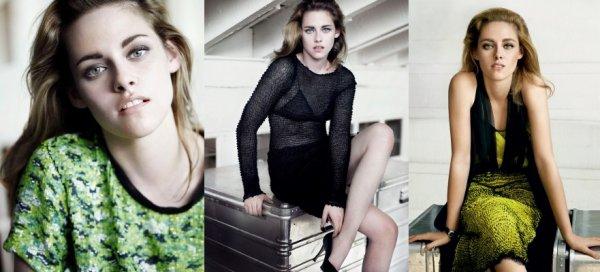 Kristen Stewart dans Vogue Février 2011 !