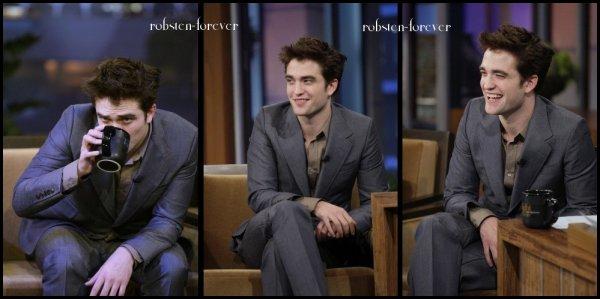 Robert Pattinson : The Tonight Show With Jay Leno March 18, 2011 + un nouvelle extrait de Water For Elephants !!