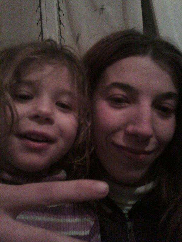 moi et ma petite chérie d amour