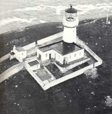 Le phare maudit de l'île d'Eilean Mor