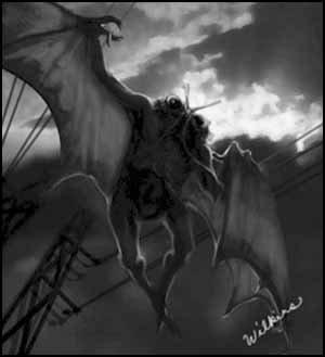 Le Mothman... une créature effrayante
