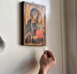 La Vierge qui pleure à Garges-Les-Gonesse