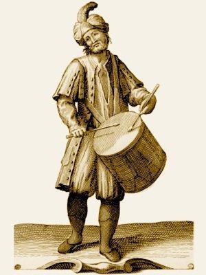 Le fantôme de l'homme au tambour (Écosse)