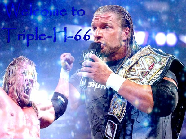 Bienvenue Sur Le Blog Consacrée A Triple H