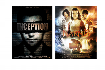 MONDAY IS Inception vs Narnia 1 βritta