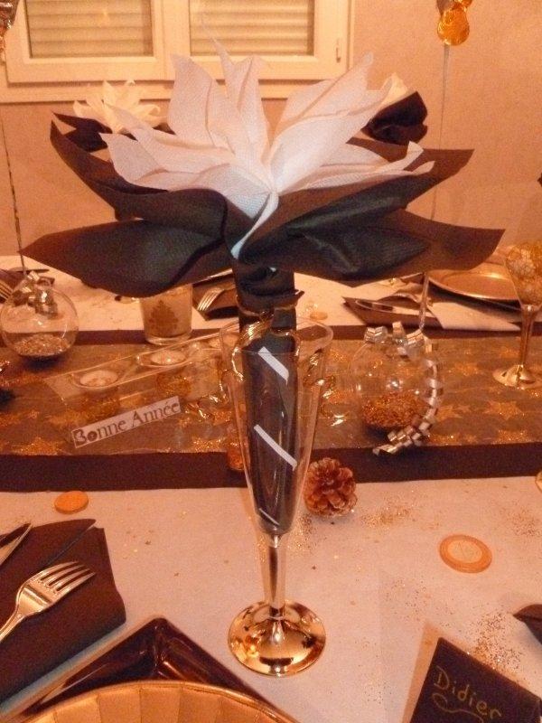 R veillon du nouvel an d co de table - Deco table reveillon nouvel an ...